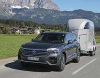 Pferdeanhänger-Zugfahrzeugneuvorstellung: VW Touareg auf Mit-Pferden-reisen.de