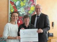 Rüsselsheimer Volksbank unterstützt Auszeit e.V.