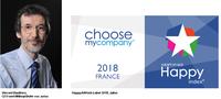 Jalios mit Happyindex AtWork 2018 ausgezeichnet