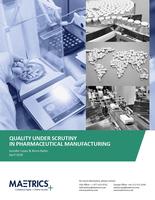 Die pharmazeutische Herstellung fordert eine Qualitätskultur
