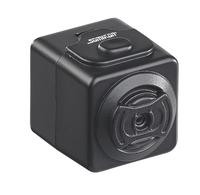 Ultrakompakte HD-Videokamera DV-705.cube mit microSD-Slot und Magnet-Halterung