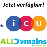 .icu Domain jetzt verfügbar!