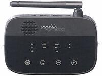 2in1-Audio-Sender und -Empfänger BTR-300, Bluetooth 4.2, aptX, 50 m Reichweite