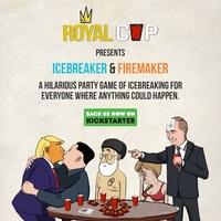 Royal Cup mit Icebreaker und Firemaker auf Kickstarter: Das soziale Spiel für Mauerblümchen