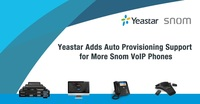 Snom und Yeastar bauen Interoperabilität aus