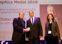 Fraunhofer IGD: Eurographics Gold Medal für Prof. Fellner