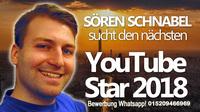 Musikproduzent Sören Schnabel sucht den neuen Youtubestar!
