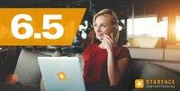 STARFACE 6.5 ist verfügbar: UCC-Plattform jetzt mit Screen-Sharing, Remote-Control und Videotelefonie