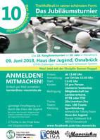 Tischfußball! Die 10. Osnabrücker Stadtmeisterschaften vermelden Anmelderekord