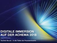 Kommunikation der Digitalisierung auf der ACHEMA 2018