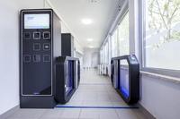 Eingangssystem von Wanzl regelt reibungslosen Ein- und Ausgang im Hallenbad Weißenfels