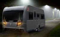 Caravan-Warnblinkanlage: sicherer Manövrieren