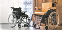 Standardrollstühle für Senioren sind meist gebraucht