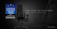 Caseking gratuliert: Der noblechairs ICON ist der beste Gaming-Stuhl des Jahres 2018!