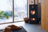 Stromkosten senken - Wärmepumpe mit Kaminofen kombinieren
