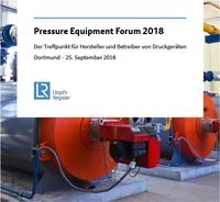 Pressure Equipment Forum 2018