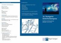 10. Stuttgarter Sicherheitskongress mit Fachausstellung