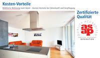 Vorteile durch zertifizierten Vermieter, beim Mieten einer möblierter Wohnung in Zürich