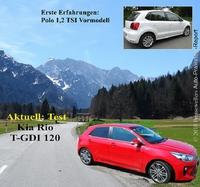 Polo und Kia Rio T-GDI im Auto-Praxistest-Report 30