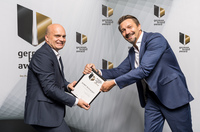 ipanema2c gewinnt German Brand Award für DURIT Hartmetall.