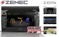 Highlight - ZENECs Navi Z-E3756 für den Fiat Ducato