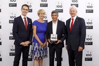 Fertighaus Weiss gewinnt Top 100: Innovationserfolg
