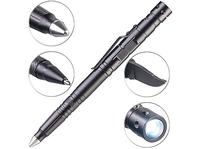 VisorTech 5in1-Tactical Pen mit Kugelschreiber und mehr