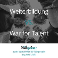 Pilotprojekt gegen War for Talent sucht noch Teilnehmer