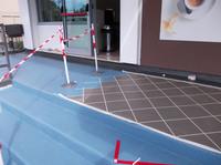 showimage Visitenkarte Terrasse: Eingang zur Eisdiele wieder schön und sicher