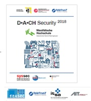 D-A-CH Security Konferenz 2018 am 4./5.9. an der Westfälischen Hochschule Gelsenkirchen