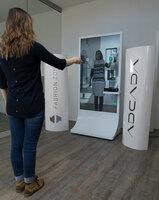 Die digitale Umkleide - Einmalig in Europa