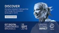 EIT Digital Conference 11 September 2018 in Brüssel - Jetzt registrieren!