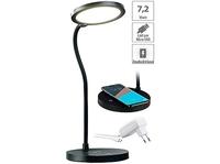 Dimmbare COB-LED-Schreibtischlampe mit Ladestation