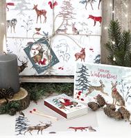 Im Weihnachtswald von Daniela Drescher - neues Design aus dem Grätz Verlag