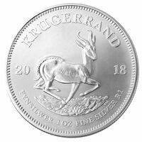 Krügerrand Anlagemünze jetzt auch in Silber – ab August 2018