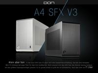 JETZT bei Caseking - Das DAN Cases A4-SFX V3 Mini-ITX-Gehäuse für ultrakompakte Gaming-Systeme.
