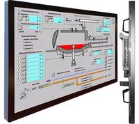 """55""""-Industrie-TFT-Großbildschirm mit Ganzglasfront"""