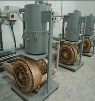 Protective gas delivery by side channel compressor of SKVTechnik