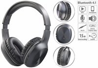 auvisio Over-Ear-Headset OHS-360.bt mit Bluetooth 4.1