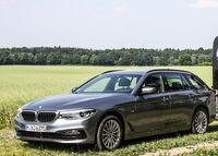 Pferdeanhänger-Zugfahrzeugtest BMW 530 d Touring auf MIt-Pferden-reisen.de