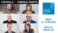 Ben Schulz & Consultants im September 2018 auf der Zukunft Personal in Köln