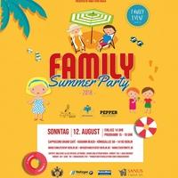 FAMILY SUMMER PARTY 2018 am 12.08. im Ku´Damm Beach