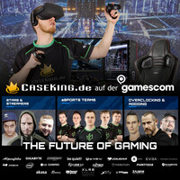 Caseking @ gamescom 2018 - The Future Of Gaming auf über 450 m²!