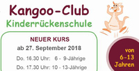 """Kaenguru Rueckenschule für Kinder im Jugendhaus Kult19 in Eningen- """"Kangoo Club"""""""