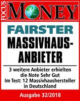 """ARGE-HAUS zum dritten Mal """"Fairster Massivhausanbieter"""""""
