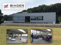 Neue Halle, nachhaltige Energienutzung: BINDER erweitert sein Werk in Burgstetten