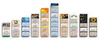 PRINTAS 4 Monatskalender Notas M-Format mit abwischbarer Notizfläche