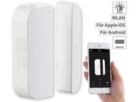 WLAN-Tür- & Fensteralarm kompatibel zu Sprachassistenten