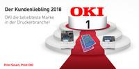 """OKI wird zum """"Kundenliebling 2018"""" gekürt"""