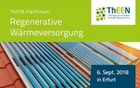 Fachforum Regenerative Wärmeversorgung